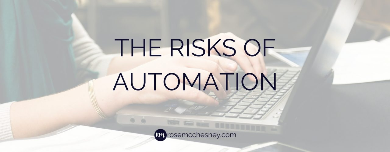 The Risks of Automation in Your Business