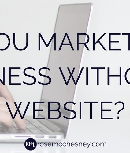 Can You Market Your Business Without a Website