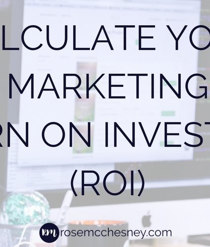 Calculate Your Marketing Return on Investment (ROI)
